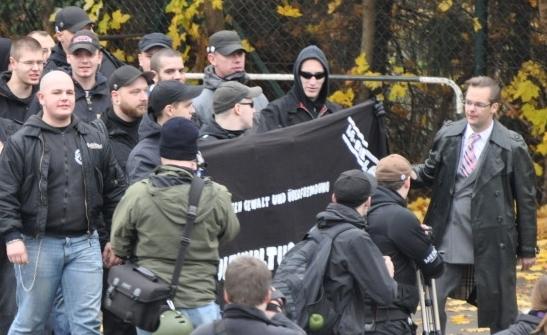 Naziaufmarsch in Velbert - Oktober 2010