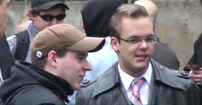 links Kevin Koch - rechts Axel Reitz