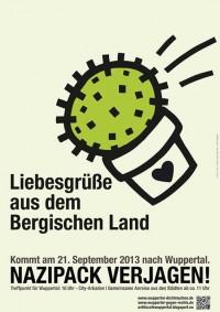 21.09.2013 | Naziaufmarsch verhindern! | Wuppertal