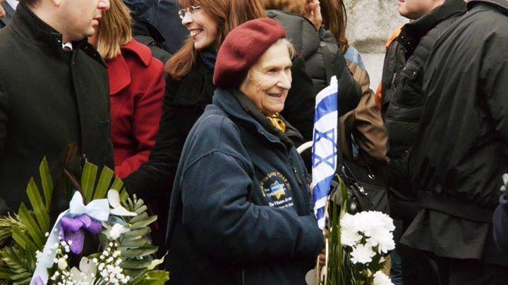 Holocaust-Gedenktag in Wuppertal 2015 - Begegnung mit der Partisanin Fania Branzowskaja (Vilnius, Litauen)