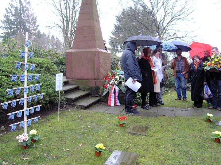 28.02.2015 | Gedenk-Wanderung zum 70. Jahrestag des Burgholz-Massakers in Wuppertal