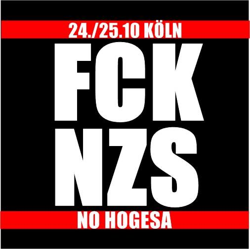 24./25.10.2015 | #NOHOGESACOMEBACK | Köln