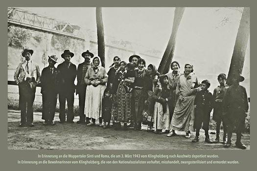 75. Jahrestag der Deportation der Sinti und Roma aus dem Bergischen Land nach Auschwitz